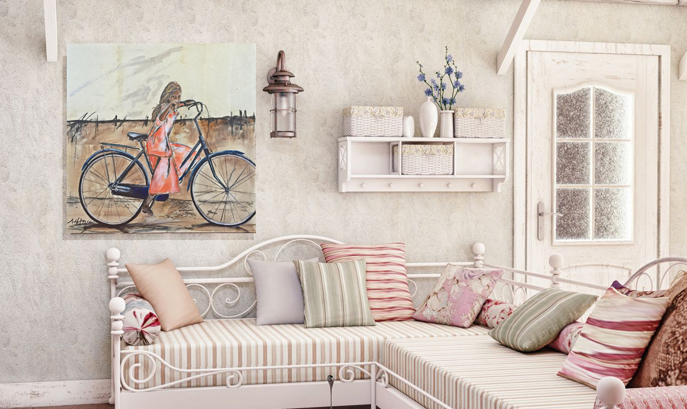 bicycle-painting-white-room
