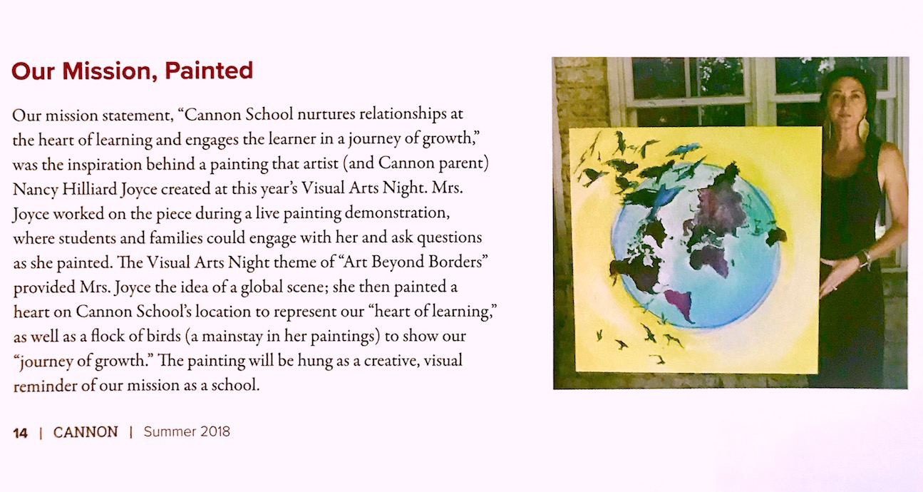 Cannon School, August 2018 (feature)